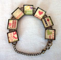 Craft: Gift Card Bracelet    #recycling #upcycling #jewelry