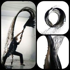 Japanese artist Shinichi Maruyama : Water Art