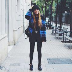 Espectacular Belen Hostalet (IS: @belenhostalet) luciendo nuestro abrigo Netic Diagonal! La mejor manera de combatir el frío!  Gorgeous Belen Hostalet (IS: @belenhostalet) wearing our Netic Diagonal coat! Best way to beat the cold!  Shop > Europe: j.mp/CustoNeticEU   America: j.mp/CustoNeticAM