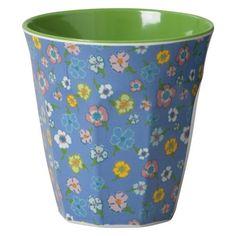 Lavender Ditsy Flower Print Melamine Cup £4.50