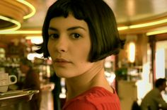 I once tried to copy the Amelie haircut. Close but no cigar, but I still love the look.
