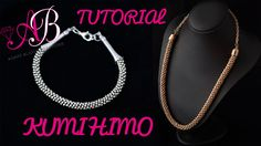 DIY Tutorial Beaded Kumihimo