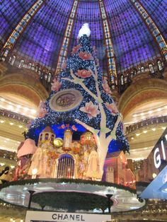 Happy New Year from Galleries Lafayette