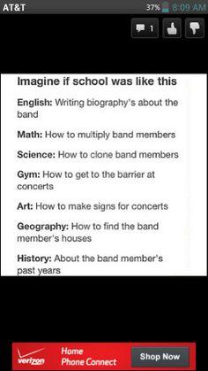 I'd be valedictorian!