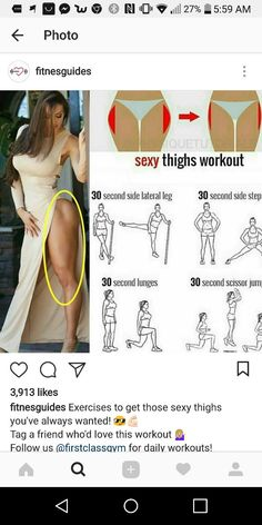 Leg Workout Plan Body Sculpting Upper Body How To Stay Healthy At Home Workouts Sexy Body Healthy Eating Health Fitness Training Full Body Gym Workout, Flat Tummy Workout, Slim Waist Workout, Hip Workout, Easy Workouts, At Home Workouts, Exercise To Reduce Thighs, Gym Workout For Beginners, Strength Training Workouts