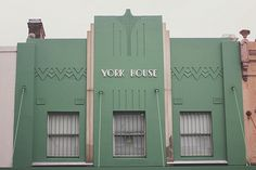 Art Deco building in Paddington, Sydney - Australia