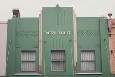 Art Deco building in Paddington, Sydney - Australia
