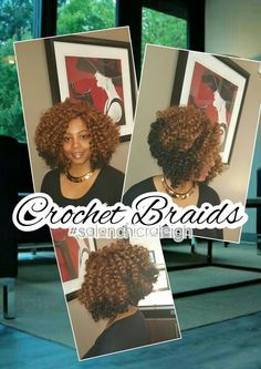 Crochet brsids using bohemian curl by xpression . long ...