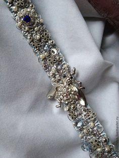 """Пояс""""Silver Scarab"""" - Oksana Sergunicheva - Ярмарка Мастеров http://www.livemaster.ru/item/12615861-aksessuary-poyassilver-scarab"""