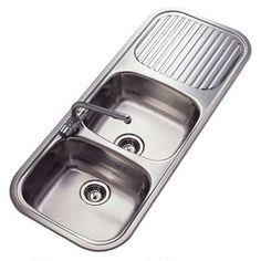 Reginox Regent 30 Double Sink And Drainer Stainless Steel REV My favourite!
