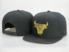 385ebd03509 Men s Chicago Bulls New Era Gold Metallic NBA Team Logo Customized Brim  Snapback Hat - Black   Grey