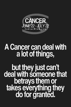 True. Just can't deal with someone who takes me for granted after everything I have done for that person in life