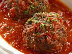 Today Show: Rao's Meatballs with Marinara Sauce - Pasta - Sauce Meatball Marinara, Meatball Recipes, Pasta Marinara, Sauce Recipes, Meat Recipes, Cooking Recipes, Raos Sauce Recipe, Risotto, Italian Foods