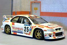 Team Slot TS10605. Subaru Impreza WRC. 34 Rally Catalunya-Costa Brava. Luis Climent Asensio-Alejandro Romaní Balcells. #slotcar Subaru Impreza Wrc, Forza Motorsport, Slot Cars, Cars And Motorcycles, Rally, Costa, Models, Collection, Racing