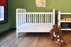 convertible crib Liberty   #projectnursery #franklinandben #nursery