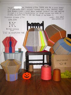 Ad for BonBons at Nickey Kehoe Shop. Lamps designed by Ana Kras. Saving for one of these beauties