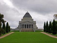 the shrine of remembrance; Melbourne, Australia