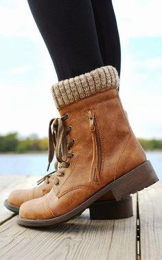 Brownish Wheeler Boots