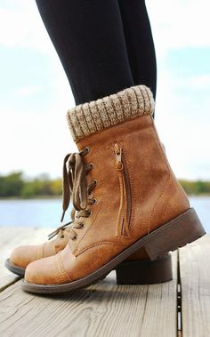 Adorable Brownish Wheeler Boots fashion