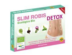 ¿Conoces todos los beneficios que Slim Robis puede aportar a tu organismo? Toma 4 comprimidos al día, notarás el efecto diurético, depurativo y antioxidante