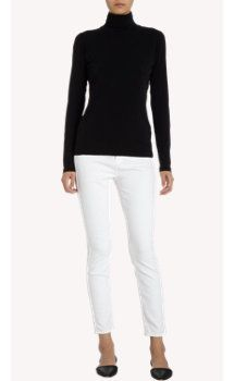 Barneys New York Solid Turtleneck Top