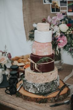 Wedding cake inspiration - Cheese Wedding cake | Wedding Photographer Birmingham | England | Rosie Kelly Photography