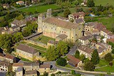 Abbaye-de-Saint-Avit-Senieur - Châteaux. Dordogne / Périgord