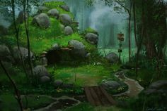 Forest Home by ~UnidColor on deviantART