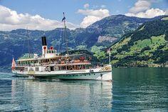 Fedezz fel és tölts le ingyenes képeket - Pixabay Free Pictures, Free Images, Paris Champs Elysees, Spa Sauna, Steam Boats, Lucerne, Vacation Trips, Sony, Travel