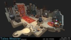 3D배경과정 - Tales Weaver - Unity3D - 이선형님