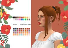 Sisterlocks, Sims 4 Stories, Tout Rose, Play Sims, Sims 4 Characters, Sims 4 Mm Cc, The Sims 4 Download, Sims Hair, Sims 4 Build