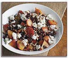 Beet Salad Recipes With Goat Cheese.Roasted Beets With Hazelnuts And Goat Cheese Recipe Ben . Roasted Beet Salad With Oranges And Creamy Goat Cheese . Home and Family Roasted Beet Salad, Beet Salad Recipes, Vegetarian Salad Recipes, Salad Recipes For Dinner, Vegetarian Cheese, Vegetable Recipes, Keto Recipes, Skillet Chicken Parmesan, Breaded Chicken