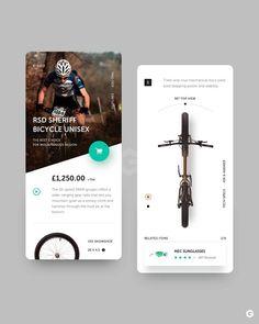 UI Design of the week 3 - Graphic - Design - UIUX - UI Design - web Design - ux - ui - ui ux designer- Inspirations - Graphicroozane Ui Design Mobile, Web Ui Design, App Design Inspiration, Application Ui Design, Mobile Application, Conception D'applications, Web Design Tutorial, Web Mobile, Website Design Layout
