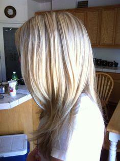 Blondes jugendlich der multi Ansicht