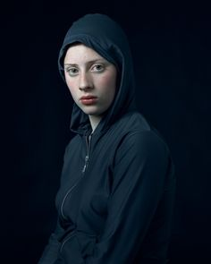 Check out these amazing Vermeer-style photographic portraits by Dutch photographer Hendrik Kerstens.