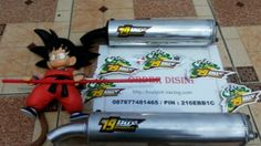 Knalpot Racing RX King selencer buatan 79 DUX Surabaya krom