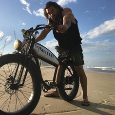 "Jason Momoa (@prideofgypsies) on Instagram: ""VALLKREE Greatest bike on the earth. @vallkree the new Aquaman electric bike Mahalo to the…"""
