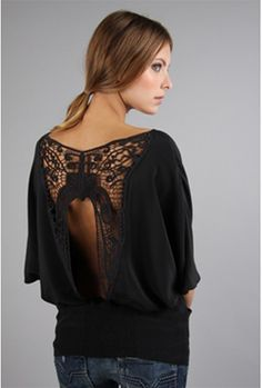 Open back doleman blouse- i have this