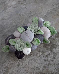 Ronel Jordaan African Succulent Cushion
