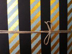 Notebook Stripes Detail