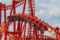 Energylandia w Zatorze to największy par rozrywki w Polsce Ferris Wheel, Fair Grounds, Travel, Viajes, Destinations, Traveling, Trips