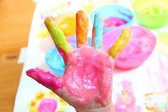 Receta para pintura casera   Blog de BabyCenter por @Carolina Krupinska Llinas