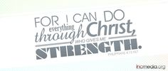 """#Verseoftheday: """"For I can do everything through Christ who gives me strength."""" Philippians 4:13 NLT"""