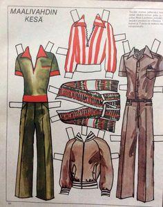 Peter Lindholm clothes 1975