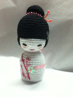 Kokeshi by ((carola)), via Flickr.
