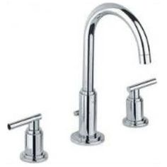 Grohe Atrio High Spout Widespread Bathroom Faucet with Lever Handles Grohe Bathroom Faucets, Widespread Bathroom Faucet, Lavatory Faucet, Bathroom Fixtures, Grohe Atrio, Kitchen Mixer Taps, Shower Taps, Basin Mixer Taps, Plumbing Fixtures