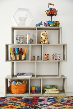Decorating Ideas For Kid Room That You'll Both Love. Colorful walls don't need to be your first step to give your child the playful room of their dreams. Get inspired with these kids room ideas. Room Organization, House Floor Plans, Kids Decor, Room Inspiration, Kids Bedroom, Home Goods, Room Decor, House Design, Storage