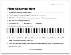 Worksheets Piano Theory Worksheets free piano worksheets this one has a fun cowboy theme and helps worksheet about the scavenger hunt group class idea from colour in my
