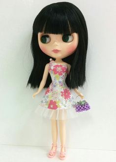Floral Dress for Neo Blythe & Licca by SKSungDesigns on Etsy