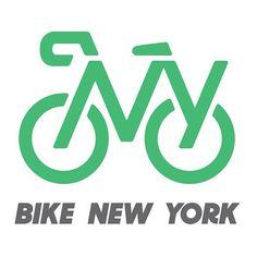 Bike New York | logo/identity by @pentagramdesign for @bikenewyork